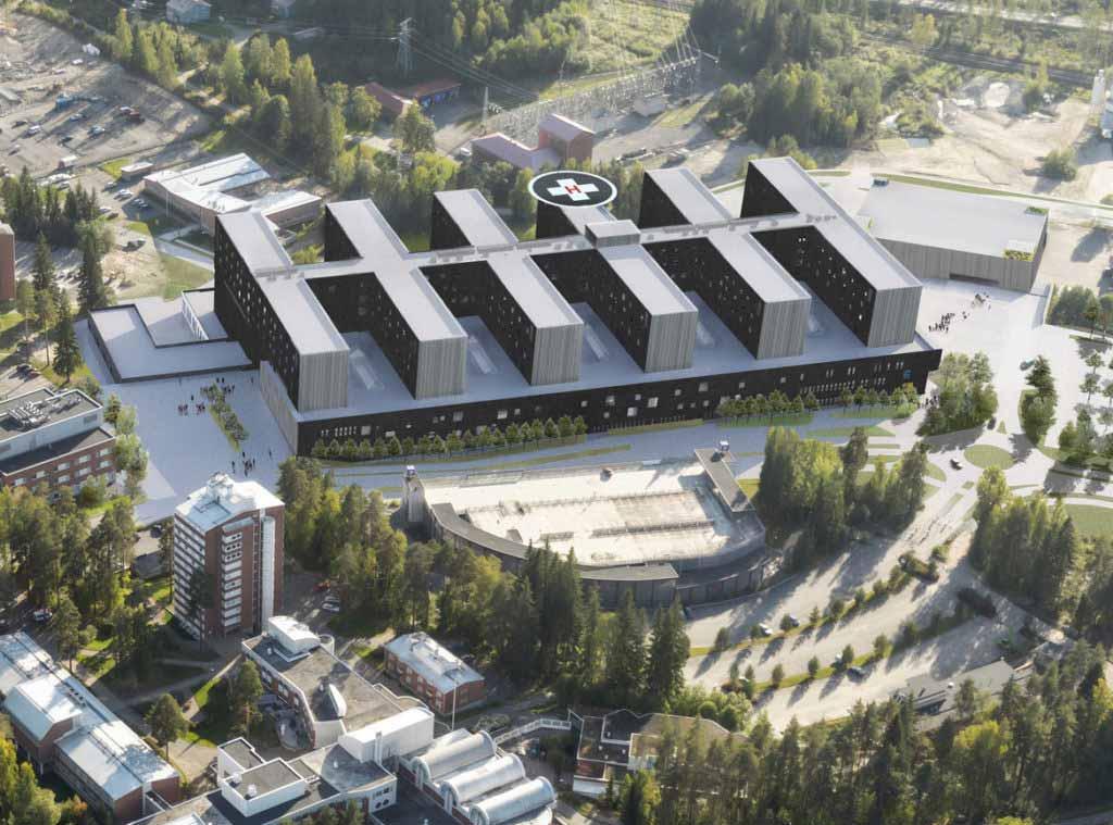 JIS-Automationin savunpoiston ohjausjärjestelmä Keski-Suomen Sairaala Novaan